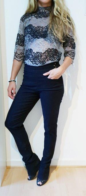 Gucci Luxus Designer Velvet cord skinny Bootcut Hose