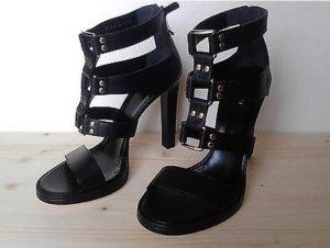 GUCCI Luxus Sandalen in schwarz in der Größe 38,5