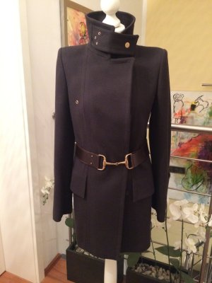 Gucci Heavy Pea Coat ocher new wool