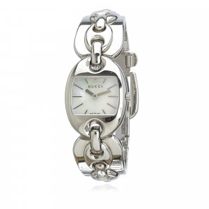 Gucci Watch silver-colored stainless steel