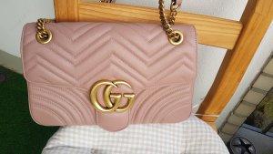 Gucci Handtas roségoud-rosé