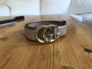 Gucci Marmont Buckle Gürtel Leder Doppel GG Schnalle