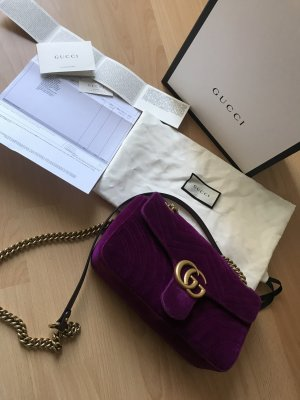 Gucci Marmont GG Velvet Medium