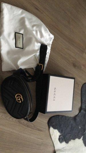 Gucci Marmont Gürteltasche schwarz