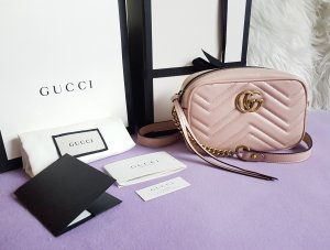 Gucci Marmont Mini Camera Bag Rosa