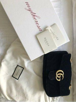 Gucci Marmont Mini Tasche Samt