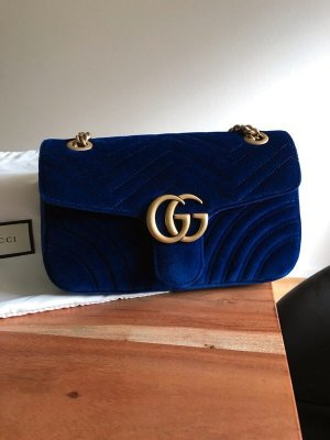 Gucci Pouch Bag dark blue