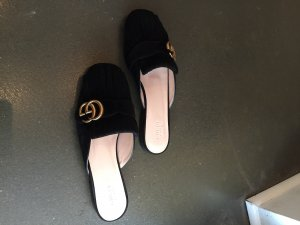 Gucci Slippers black suede