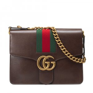Gucci Handbag cognac-coloured leather