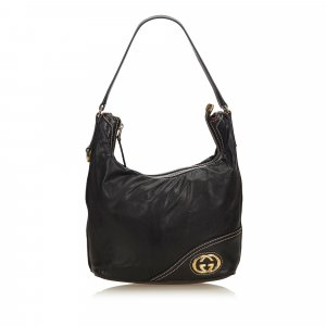 Gucci Medium Guccissima Leather Britt Hobo