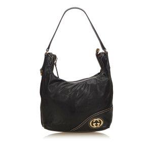 Gucci Borsa sacco nero Pelle