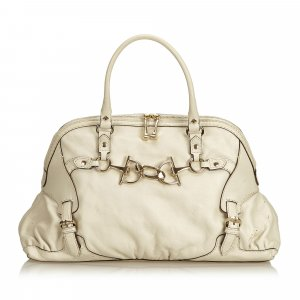 Gucci Medium Horsebit Nail Leather Shoulder Bag