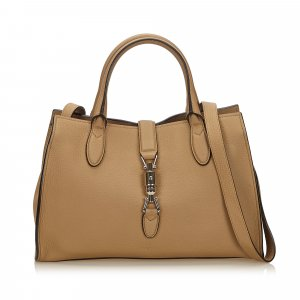 Gucci Satchel beige leather