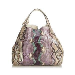 Gucci Medium Python Soho Bag