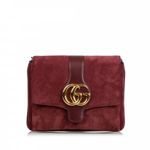 Gucci Medium Suede Arli Crossbody