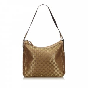 Gucci Metallic GG Canvas Shoulder Bag