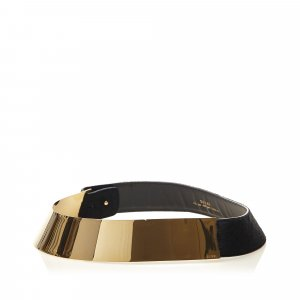 Gucci Metallic Pony Hair Belt