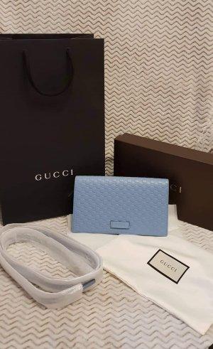 GUCCI Micro Guccisima Crossbody Wallet