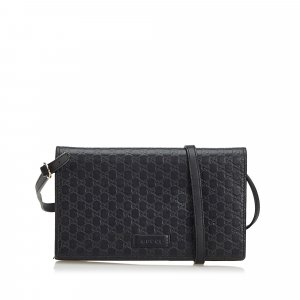 Gucci Microguccissima Long Wallet on Strap
