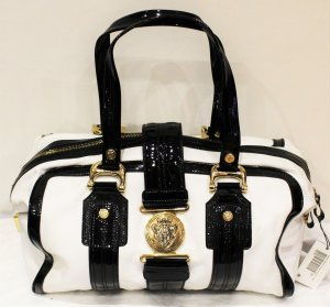 Gucci Bowling Bag white-black leather