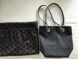 Gucci Monogram GG Eclipse Shopper schwarz Vintage ORIGINAL