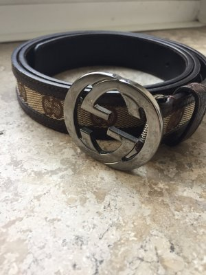 Gucci Monogram Gürtel