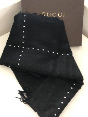 Gucci Schoudersjaal zwart-zilver