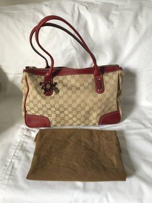 Gucci Handbag beige-carmine