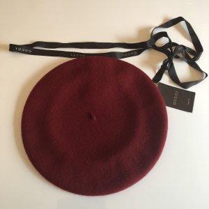 Gucci Casquette rouge carmin