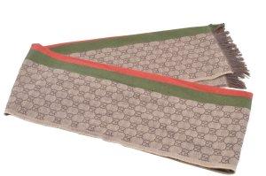 Gucci Gebreide sjaal bruin