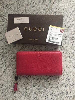 Gucci Portemonnee framboosrood-magenta