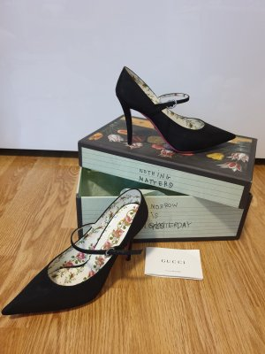 Gucci  NEW spitz pumps / blogger street style