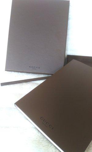 Gucci Notizbuch in Box mit Bleistift