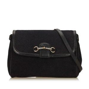 Gucci Nubuck Crossbody Bag