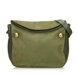 Gucci Shoulder Bag green leather