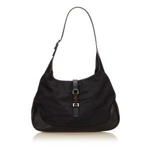 Gucci Shoulder Bag black nylon