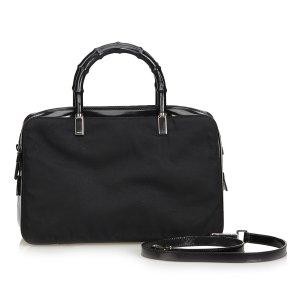 Gucci Satchel zwart Nylon