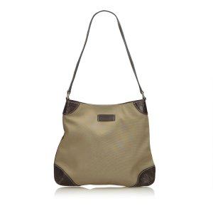 Gucci Shoulder Bag khaki nylon