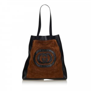 Gucci Ophidia Suede Large Tote Bag