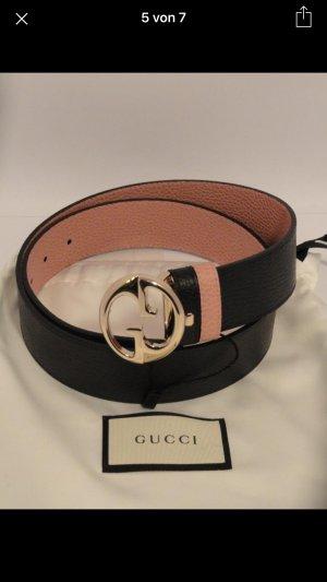 Gucci Original 2-Seitiges Ledergürtel Große-90-36