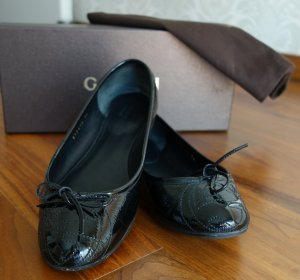 Gucci Patent Leather Ballerinas black