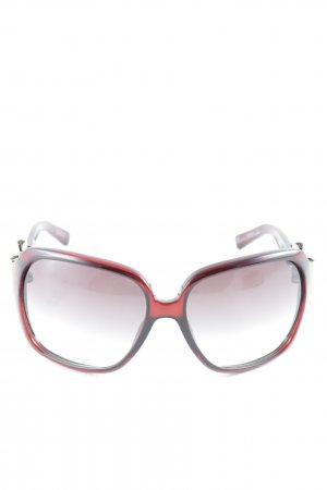 Gucci Oval Sunglasses bordeaux elegant