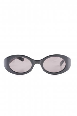 Gucci Oval Sunglasses black retro look