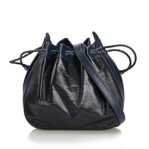 Gucci Patent Leather Bucket Bag