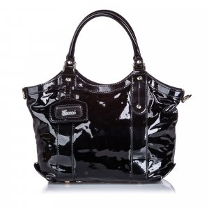 Gucci Patent Leather Handbag