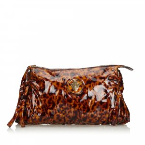 Gucci Clutch brown imitation leather