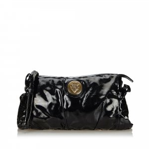 Gucci Patent Leather Hysteria Clutch Bag