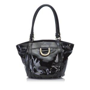 Gucci Patent Leather Tote Bag