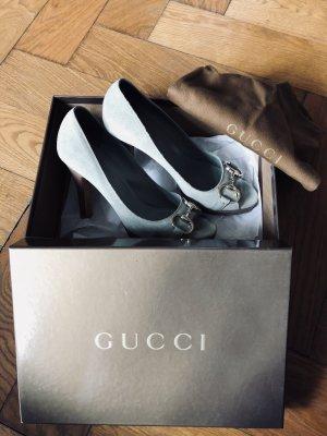 Gucci Peeptoe mit kleinem Plateau Gr. 37,5