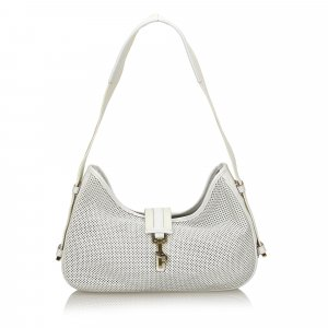 Gucci Perforated Jackie Shoulder Bag
